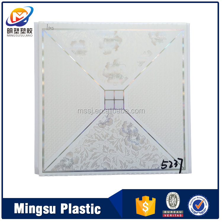 Ghana Plastic T&G PVC Ceiling Panel Popular design from china factory Yafa