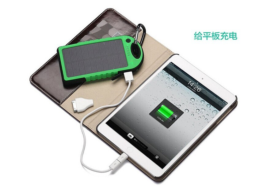 hot new products for 2016 portable solar power bank