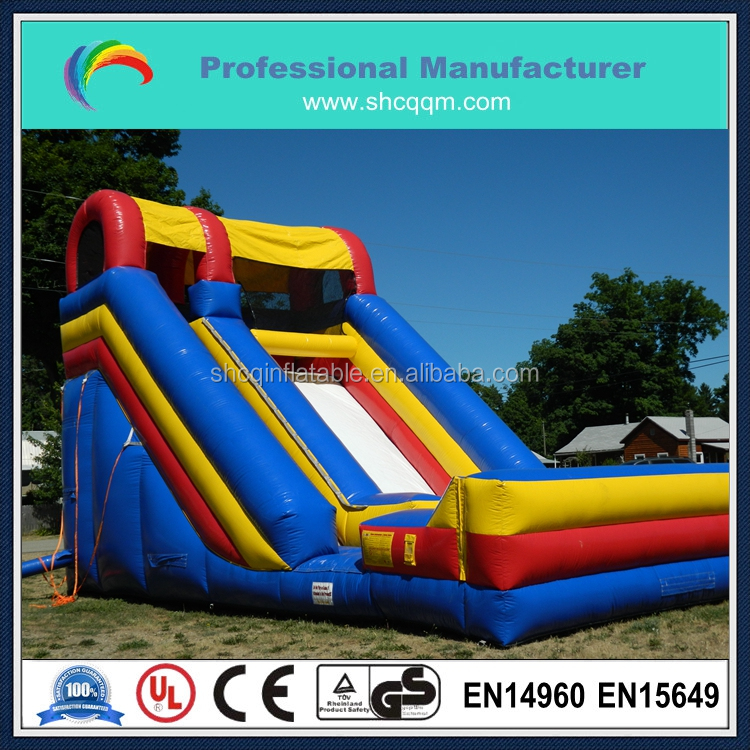 18ft inflatable slide,outdoor inflatable slide for kids and adults