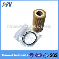 High efficiency paper auto oil filter, car oil filter, bulk oil filters