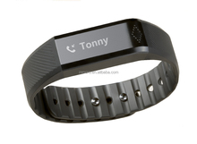TFT touch screen bluetooth 4.0 smart wristband pedometer for IOS and Android