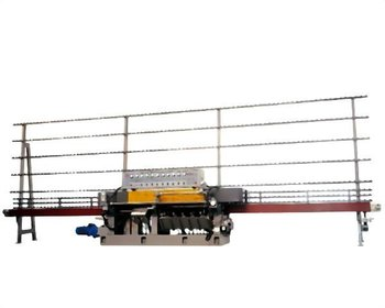 45 degree Straight-line edging Machine- For 9 motors/glass polishi Machine Edge Grinding Machine JFE - 9540