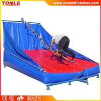 Best sale inflatable Jacobs Ladder Single for adult/fuuny inflatable sport games