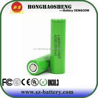 HHS New LG chem MJ1 18650 3.7V 3500mAh Lithium ion Battery with 10A Discharge