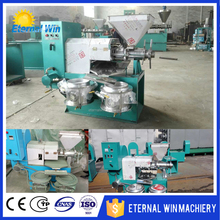 Easy operation sunflower seeds oil mill / groundnut oil press machine