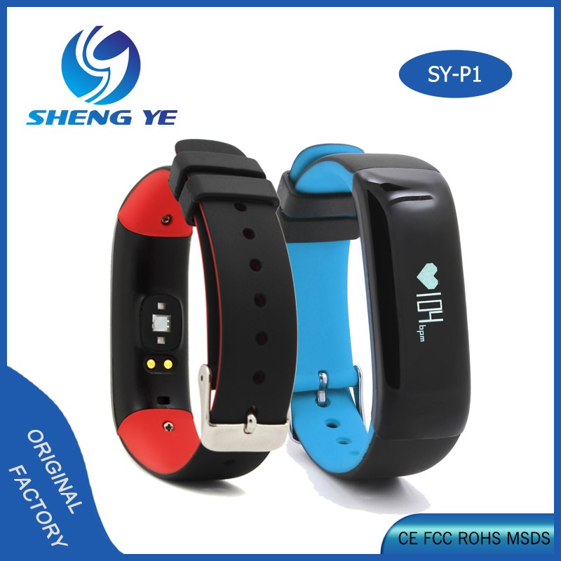 Fitness Watch OLED device Stylish Bluetooth 4.0 Smart Bracelet Watch heart rate monitor and blood pressure smart bracelet