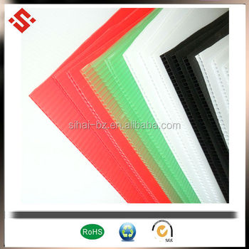 factory price PP plastic Corrugated plastic sheet coroplast sheet China supplier