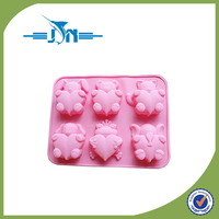 2016 hot sale mouse shape silicone cake mold with CE certificate