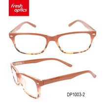 DP1003 Rimless eyeglasses opticals reading young glasses frames eyeglasses without nose pads