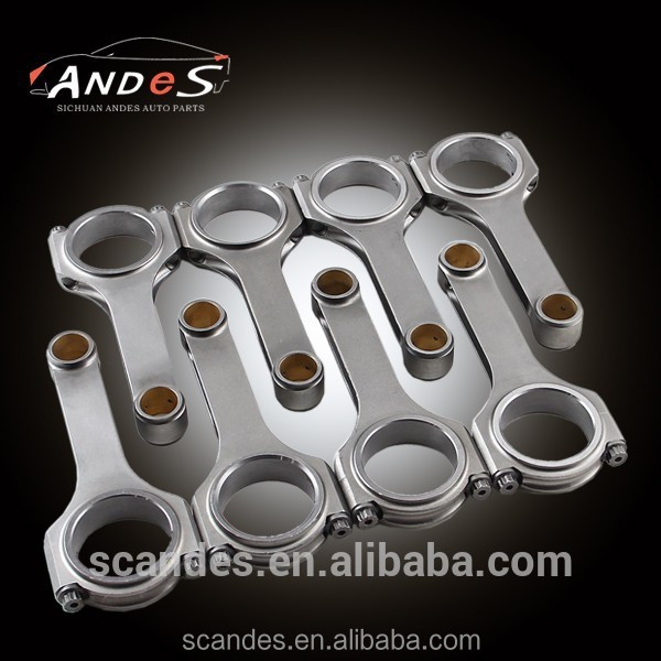 Forged 4340 H Beam Conrods For Toyota 2JZ Engine CC142mm Connecting Rod