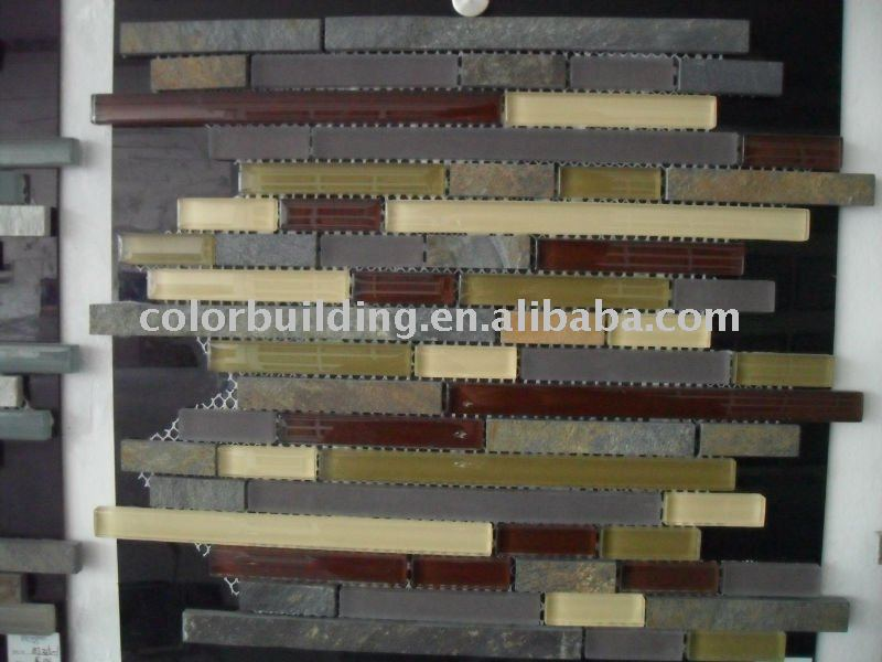 Strip Mosaic Free Design Back Splash
