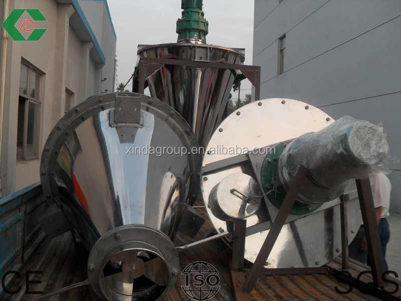 industry twin spiral mixer for fertilizer