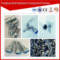 Low price made in china factory manufacturer Fitting Type different types of hydraulic fittings