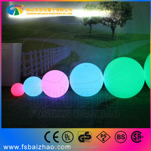 Fashion personality LED colorful glowing ball/ restaurant/ bar/ clothing store /bedroom /landscape lamp decoration product