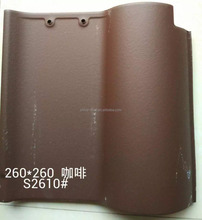 Ceramic clay curved spanish roof tile price