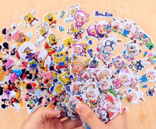 2016 promotional PVC sticker,phone sticker,cute kids cartoon sticker