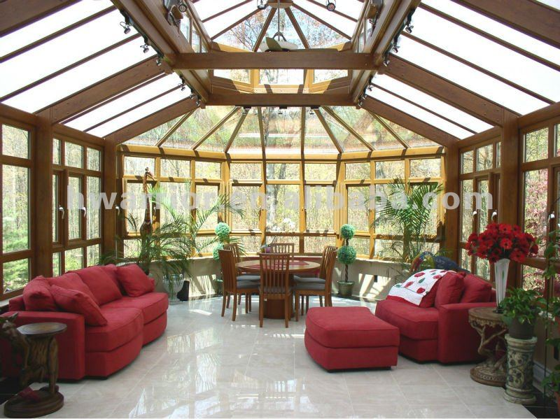 High quality hot selling aluminum winter garden sun house