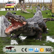 OA1694 Animatronic Realistic Remote Control Crocodile Moving Animals