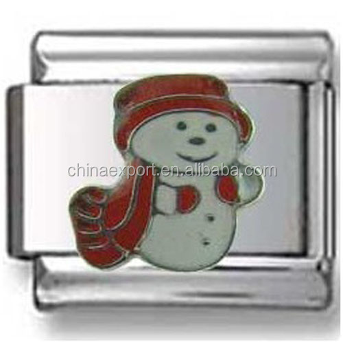 Snowman Beads and Charms