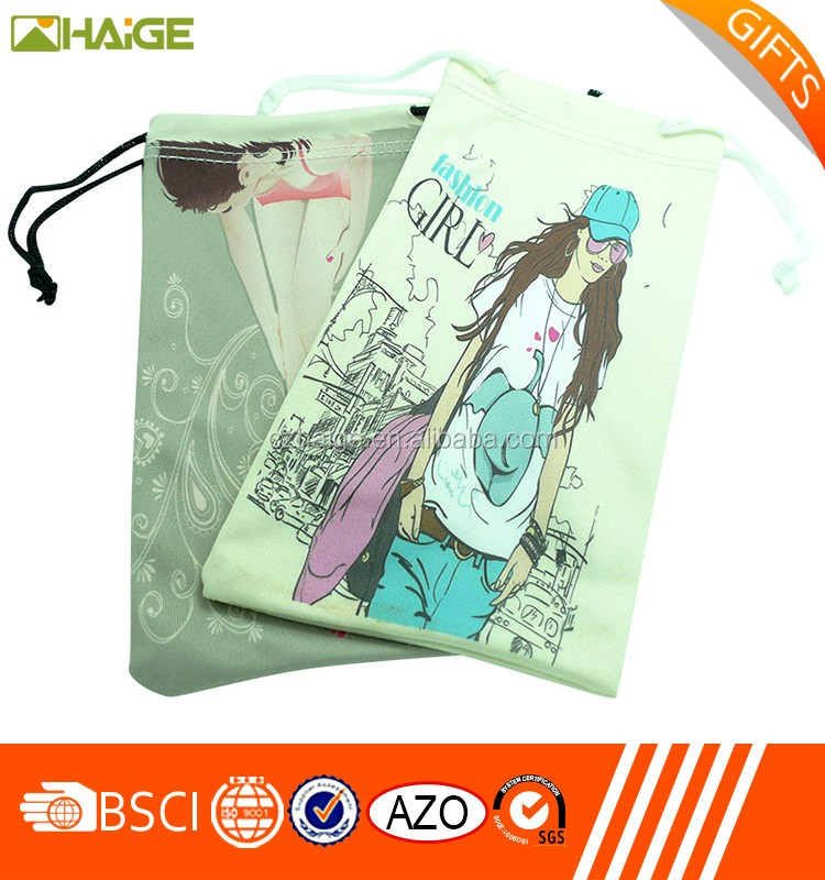 Promotional Bag,microfiber cleaning pouch drawstring eyeglass pouch