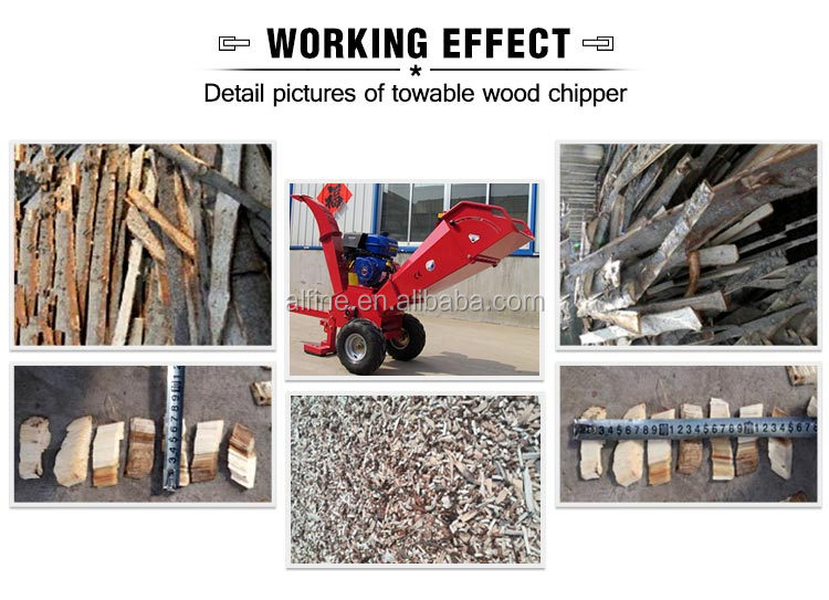 Alibaba wholesale factory price wood chipper 15hp