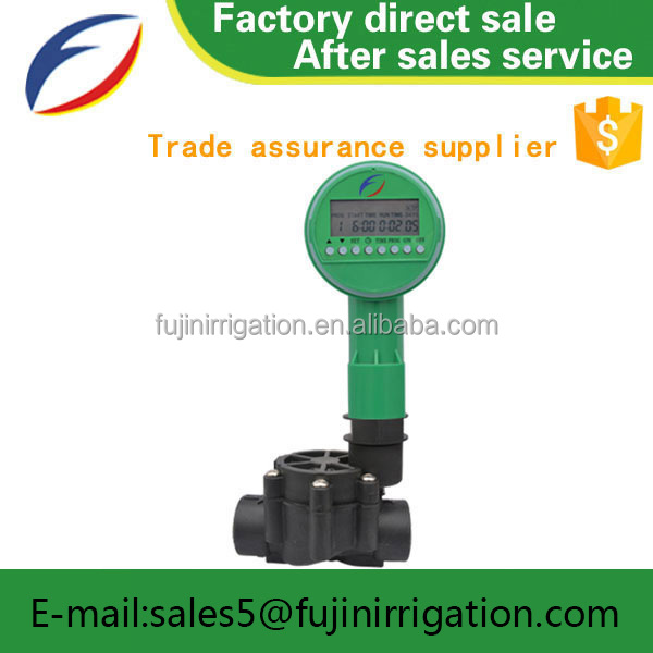 "Garden irrigation system 3/4"" and 1"" mini solenodi valve with electronic controller"