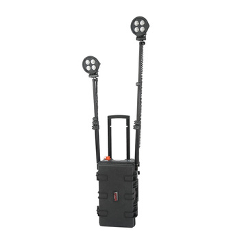 80w led tripod work light remote area lighting building construction tools and equipment