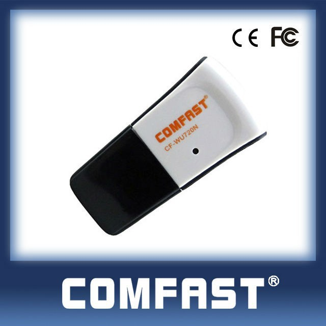 COMFAST-WU720N Super Mini Size Wireless USB Adapter Wifi Transmitter and Receiver