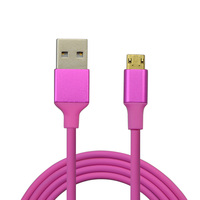 Micro USB Cable Fast Charging 480Mbps Data Sync Cords Android Mobile Phone Cable for Xiaomi, Samsung S6, LG, Sony, HTC, Motorola