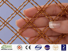Decorative metal chain mesh curtain Stainless Copper Aluminum material