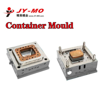 plastic container injection mold,H13 Steel tooling