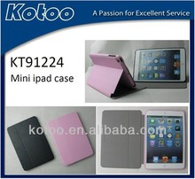 hot selling nice PU ultrathin case for ipad mini smart cover