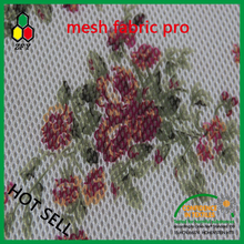 2017 3d spacer mesh fabric for flora digital print