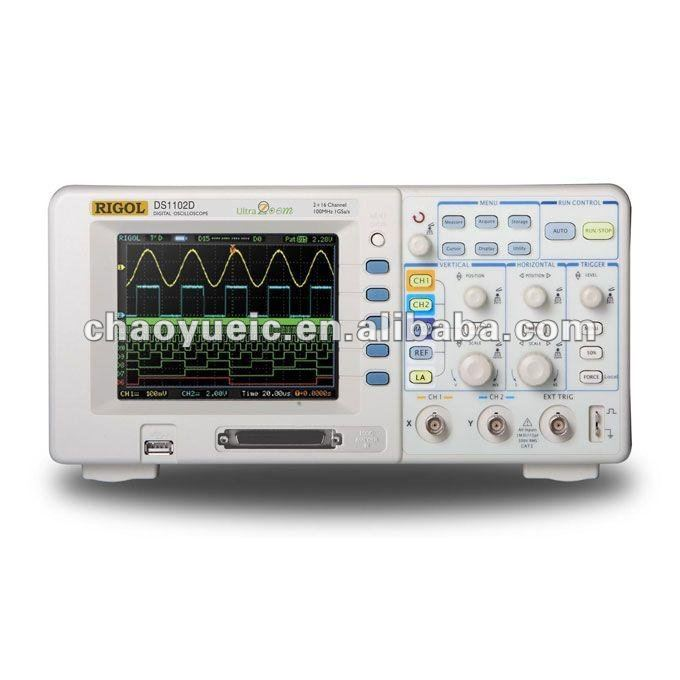 DS1102D Digital Oscilloscope(Rigol 100MHz)