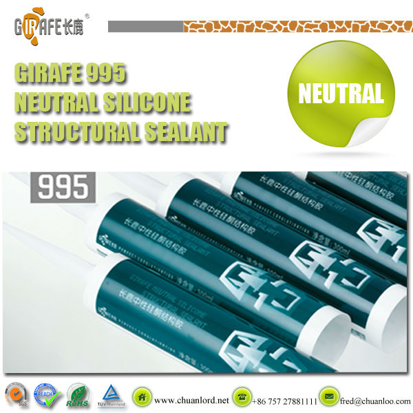 Girafe 995 Neutral high grade Silicone Glass Sealant