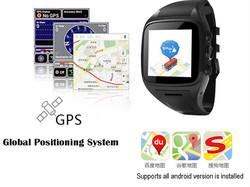 Multifunction Convenient 3g+wifi+gps smart watch with sim card voice searching smart watch X1