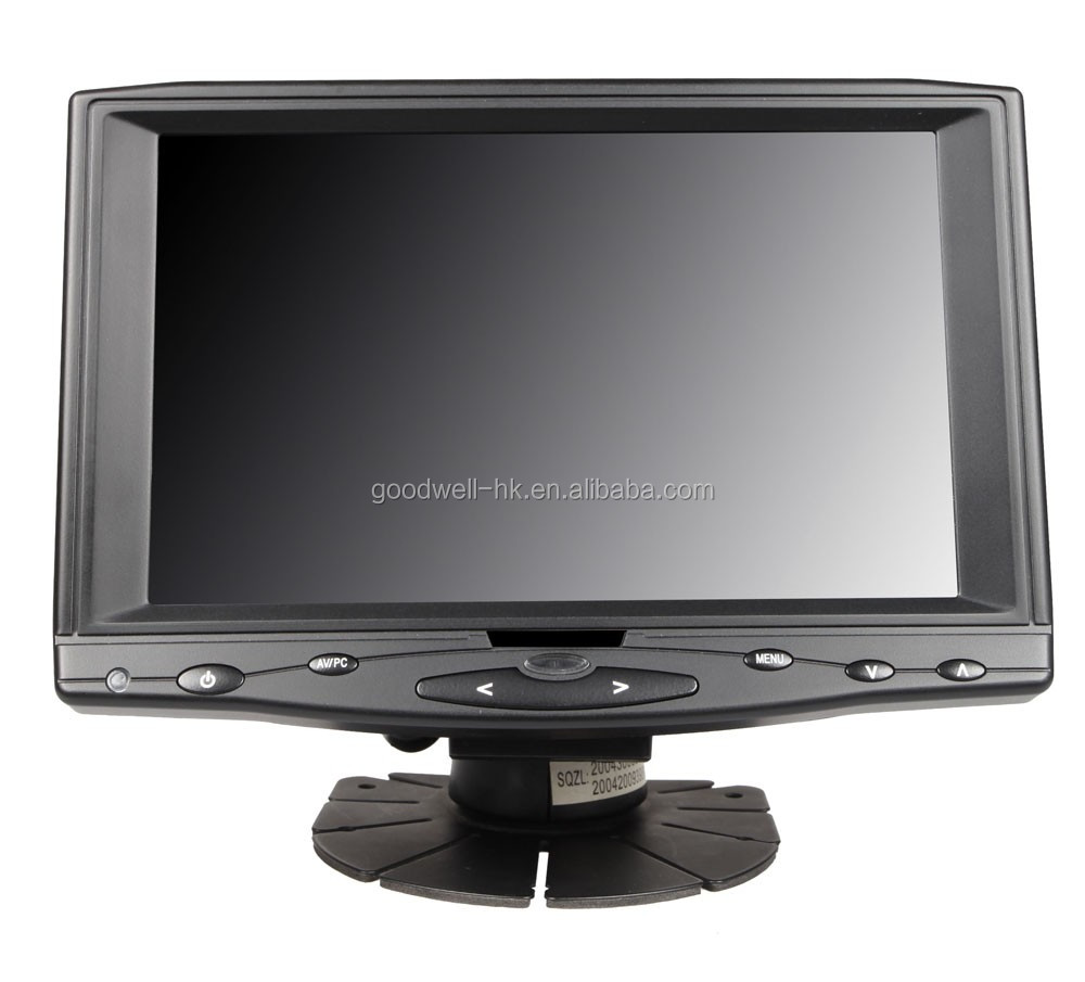 Besting Selling 16:9 Touch 7 Inch LCD Monitor with AV Input , 1024x600 IPS Panel with HDMI Input