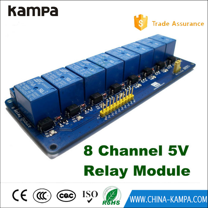5V 8-Channel electronic control board relay module relay