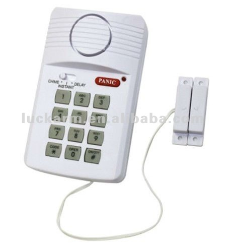 Wireless Door Magnetic Keypad Alarm