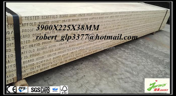 wooden lvl scaffolding board/OSHA laminated veneer board for walking