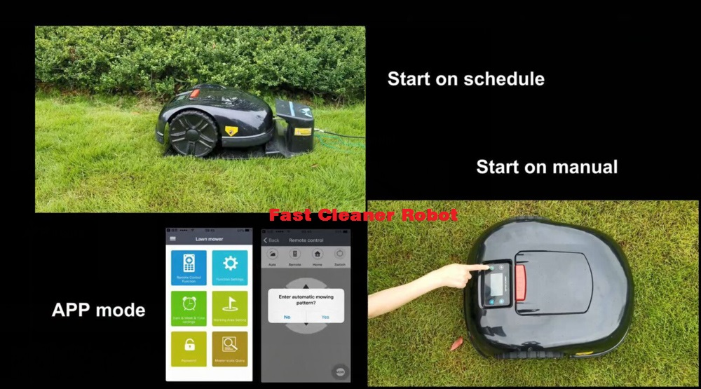 Newest and Best 5th Gerneration Auto Mower E1600 Updated with NEWEST GYROSCOPE Function