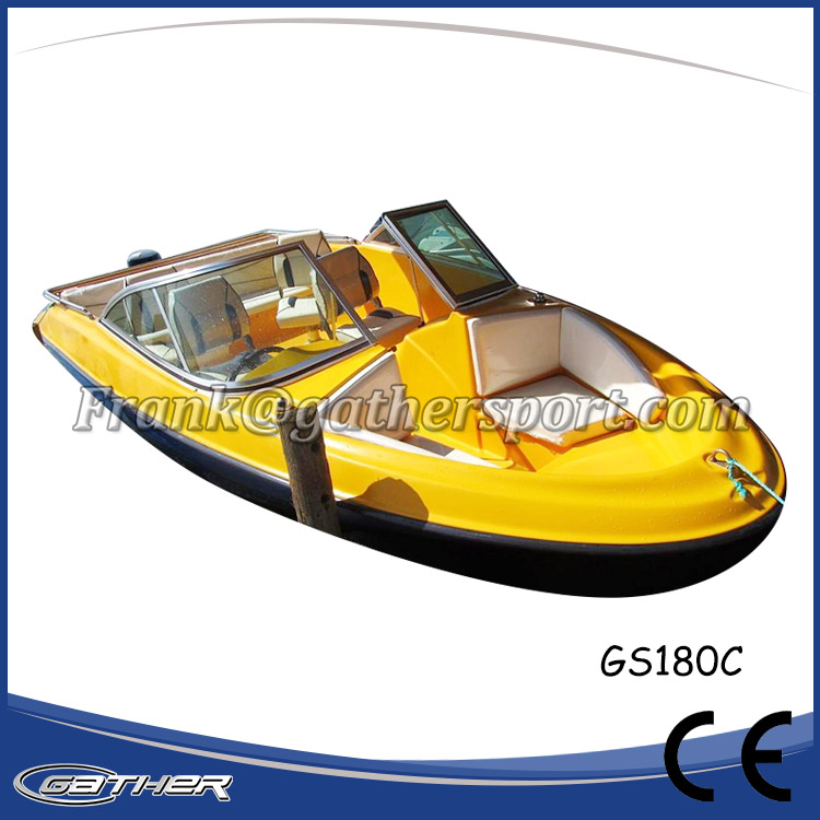 GATHER 5.5M FIBERGLASS SPORT BOAT GS180C-007