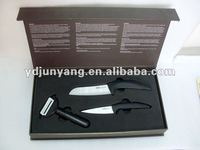 Professional Gift Box Cutting Ceramic Kitchen Knife Set