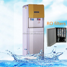 New Setting temperature Hot cold RO water purifier machine water dispenser