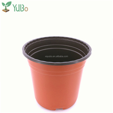 wholesale free sample bright color stackable flower pots for garden nursery