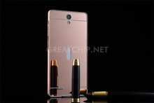 metal mirror case for vivo Y28 cheap price mobile phone case factory