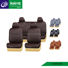 PVC Car Seat Cover For Universal Size 5PCS Full Set Car Seat Cushion Breathable SUV Seat Cover Protector