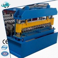 Quality primacy promotional red roof tile roll forming machine