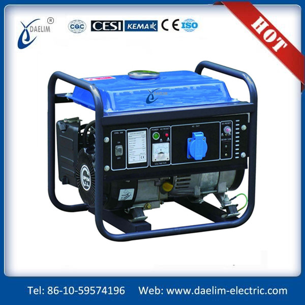 AC Single Phase Output Electric Start Diesel Generator 7KW