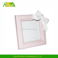 Top selling colorful natural wooden photo frames